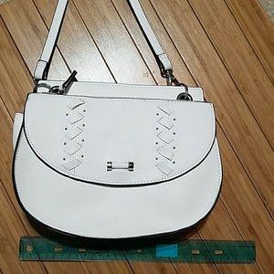 Danielle Nicole white saddle bag